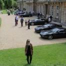 Aston Martin day at Dyrham Park