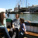 A boat trip around the docks, passing the SS Great Britain