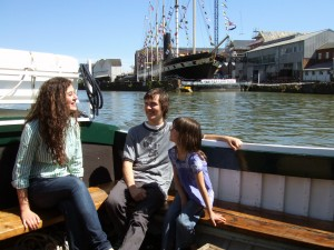Ferry trip by the SS Great Britain